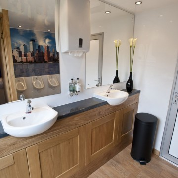 Interieur toiletwagen