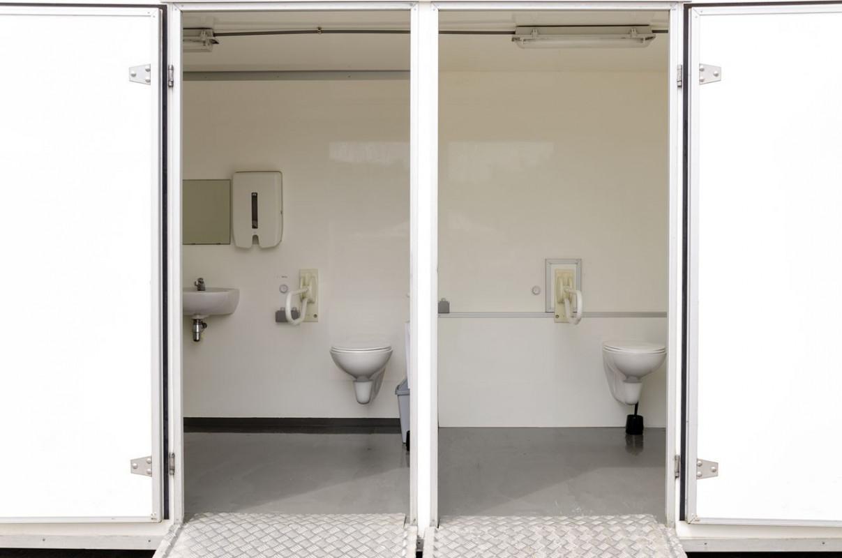 Combicontainer toilet douches rolstoeltoegankelijk gsv verhuur - Decoratie douche en toilet ...